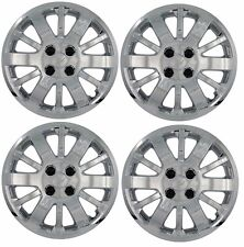 "NEW 2009-2010 Chevy COBALT 15"" Bolt-On Hubcap Wheelcover SET CHROME"