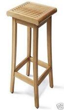 Giva Grade-A Teak Backless Bar Chair Stool Outdoor Garden Patio Furniture New