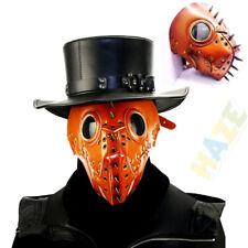 Halloween Decor Steampunk Plague Doctor Mask Cosplay Bar Party Props Masks
