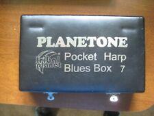 Tribal Planet Planetone Pocket Harp Blues Box 7 Harmonica Harps Set Harmonicas