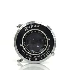 Wollensak Velostigmat 101mm F4.5 Rapax Folding bellows Camera Lens Shutter [JC]