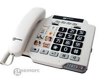 Geemarc Photophone 100 schnurgebunden Senioren-telefon Groß-tasten-telefon Bild