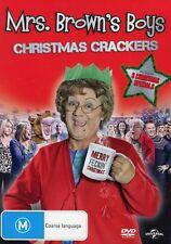 Mrs Brown's Boys - Christmas Crackers   - Region 4 - Like New - Aust Seller