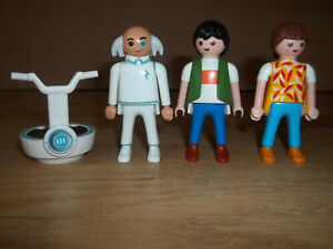 Playmobil Bundle of Figures: Dr. X Man Woman Playmobil