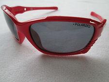 Dirty Dog Furious Rosso Frame Occhiali da sole polarizzati.