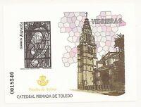 ESPAÑA / 2004 -  PRUEBA DE ARTISTA LUJO Ed. 85 VIDRIERAS CATEDRAL TOLEDO MNH**