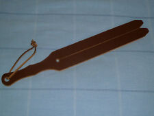 "NEW 20"" x 2½ "" - 2 tail HD Leather TAWSE - 8mm thick 63mm x 510mm (cane)"