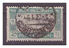 LIBIA 1927 I° FIERA DI TRIPOLI - CENT. 25 USATO