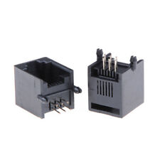 10pcs/set RJ11 RJ12 6P6C Computer Internet Network PCB Jack Socket  EB