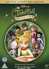 DVD:TINKER BELL COLLECTION 1 TO 5 - NEW Region 2 UK
