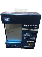 WD 1TB My Passport Ultra HDD Metal WDBTYH0010BSL-NESN USB3.0 New