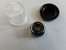 KAGINON 1:3.5 F=50mm. No.885450 SCREW FIT CAMERA LENS WITH COVER. MADE IN JAPAN