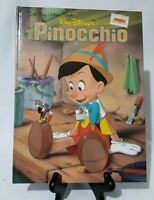 Walt Disneys Classic Pinocchio A Big Golden Book Vintage Hardcover 1990