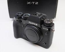 Fujifilm Fuji X-T2 24.3MP Camera - Black (body only) Excellent+ In Box