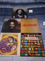 Bob Marley Vinyl LP Lot #3