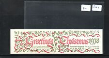 GB - Stamp Booklet - (311)  FX1 - £1.60  - Christmas 1978-  1 booklet