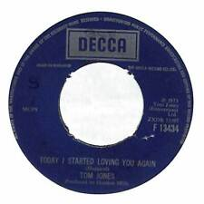 "Tom Jones - Today I Started Loving You Again - 7"" Record Single"
