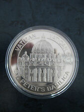 Medaille Vatican St. Peters Basilica Capital Cities of Europe