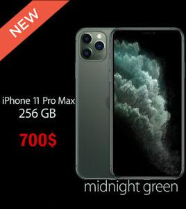 NEW SEALED Apple iPhone 11 Pro Max 256GB – (FACTORY WORLDWIDE UNLOCKED)