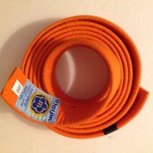 Orange mcijin Karate Belt