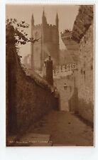 BULL HILL, FOWEY: Cornwall postcard (C7047).