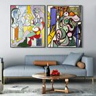 2 PCS Framed Canvas Art Combo Painting by Pablo Picasso Wall Art for Home Decor
