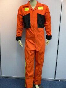 Battlestar Galactica Orange Deck Crew / Fatique Coverall Jumpsuit Costume @@