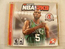 NBA 2K9 PC by 2K-Sports #5 Kevin Garnet on cover - Windows 2000/XP/Vista