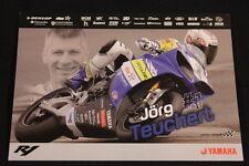 Card Yamaha YZF-R1 2010 #1 Jörg Teuchert (GER) IDM Superbike (HW)