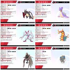 All 24 GMAX Pokemon ULTRA SHINY 6IV Batlle Ready! (Pokemon Sword and Shield)