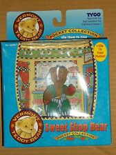 "1995 TYCO VERMONT TEDDY BEAR POCKET COLLECTION ""SWEET SHOP BEAR"" NEW!"