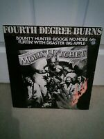 "Molly Hatchet ‎– Fourth Degree Burns Vinyl 12"" Single UK EPIC 12 8636 1980"