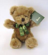 Harrods Knightsbridge London UK British Teddy Bear Luxury Gold Plush Gift NEW