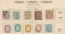 Turkey old collection 1865-1892, LH, #BDW#