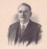 Portrait Gaston Doumergue Aigues Vives Gard Président de la République