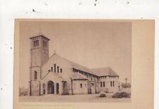 Congo Missien Van Scheut Kerk Van Ebonda Vintage Postcard 967a