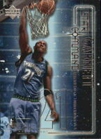 2001-02 Upper Deck Pros and Prospects Star Command #SC3 Kevin Garnett - NM-MT
