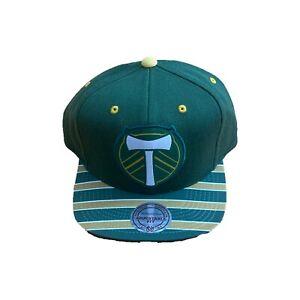 NEW NWT Portland Timbers Mitchell & Ness Logo Diamond Snapback Hat Cap