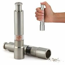 BUY 2PCS Orii Pump and Grind pepper mill one hand stainless grinder for Php 680
