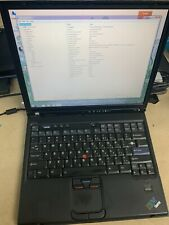 IBM Thinkpad T42 Intel Pentium M 1.80ghz 100gb HDD 1GB RAM Win7 Home