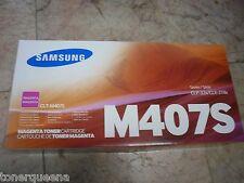 NEW ! GENUINE Samsung CLP-320 CLP325  CLX-3180 CLX-3185 Magenta Toner CLT-M407S