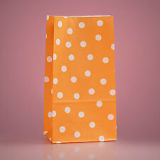 """5 X 9.5"""" Polka Dot Party Favor Paper Bags Candy Treat Gift Fillers Supplies"""