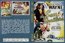 "JOHN WAYNE IN ""THE SEA SPOILERS"" RARE DVD"
