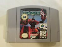 Star Fox 64 (Nintendo 64) Authentic N64 Tested CARTRIDGE ONLY FREE S/H