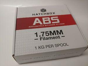 HATCHBOX ABS 3D Printer Filament,1 kg Spool, True White 1.75 mm SEALED