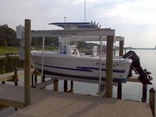 Boat Lift 10,000 Lb 4 Post Boat Lift Complete