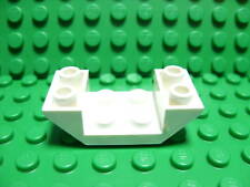 Lego NEW white 2 x 4 space ship hull section piece X 2