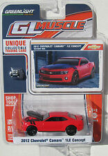 GREENLIGHT MUSCLE SERIES 5 2012 CHEVROLET CAMARO 1LE CONCEPT Victory Red #0033