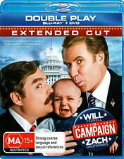 The Campaign - Comedy - Will Ferrell, Zach Galifianakis - NEW Blu-ray