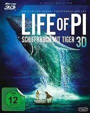 Life of Pi - Schiffbruch mit Tiger  (+ BR) [3D Blu-r... | DVD | Zustand sehr gut